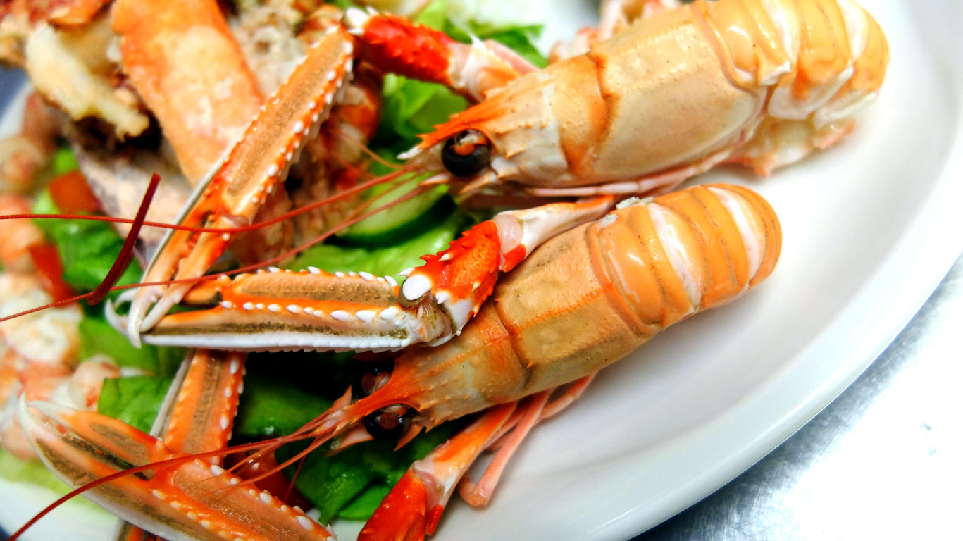 Coll Hotel Langoustines