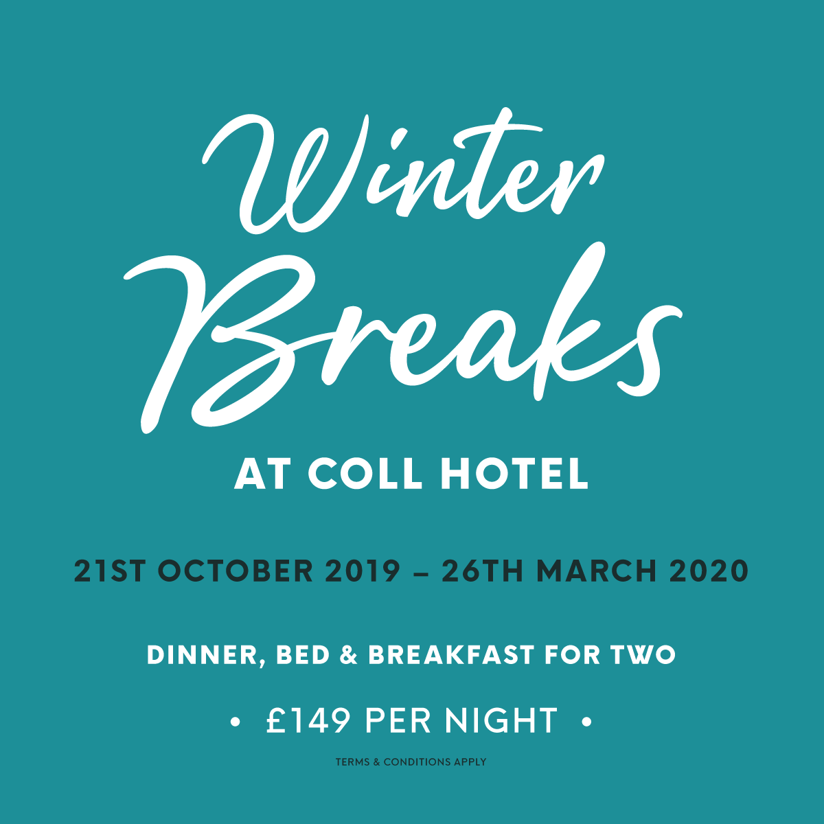 Coll Hotel Winter Breaks